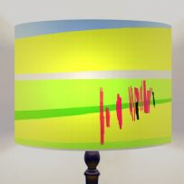 Park Life - Abstract Drum Lamp shade